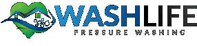 Wash Life Pressure Washing Logo